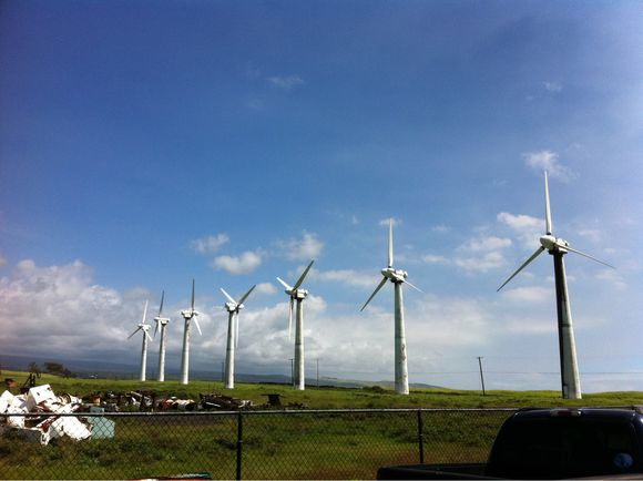 South Point Wind Farm Awaiting Scrap