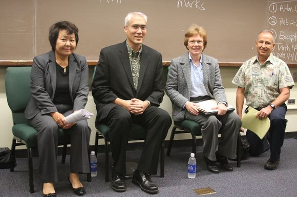 University of Hawaii Law School Panel on Professional Responsibility