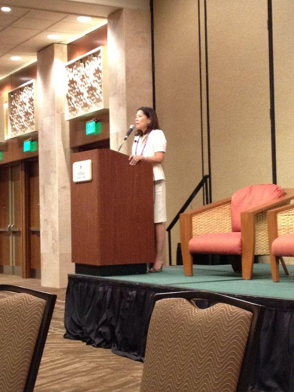 CJ Cantil-Sakauye Speaking to Hawaii State Bar Convention